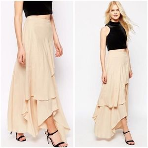 Floaty Maxi Skirt with Layers